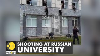 Download Russia: 8 dead , 6 injured in shooting    Latest World English News   WION News