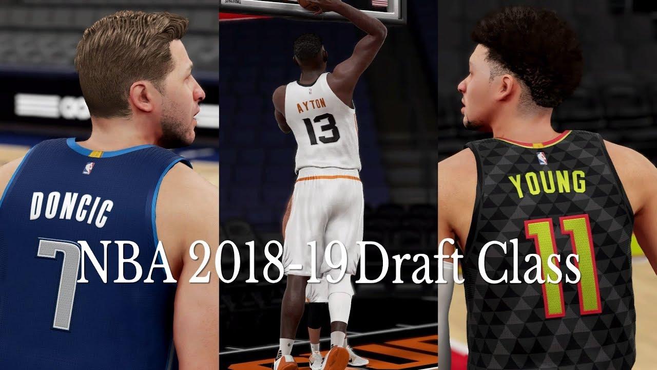 NBA 2K19 Rosters 2K16 | PS4 2018 & 2019 Draft Class Update 6|22|2018
