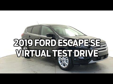 2019 Ford Escape SE Virtual Test Drive