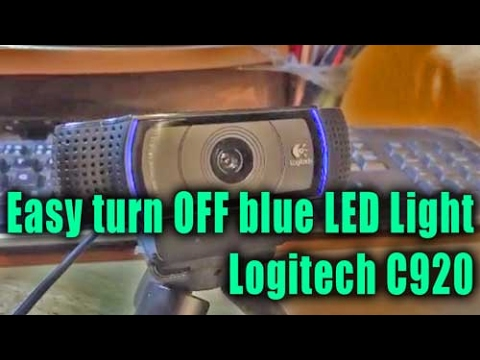 how to turn off led light on iphone how to easy turn led light c920 930 logitech 21143
