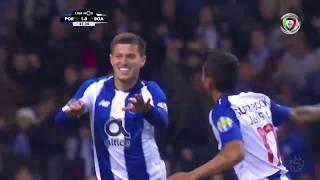 Goal   Golo Otávio: FC Porto (2)-0 Boavista (Liga 18/19 #28)