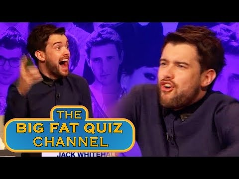 Jack Whitehall Does a Funny | Big Fat Quiz Anniversary 2015