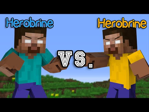 Thumbnail: Herobrine vs. Herobrine - Minecraft Part 1