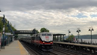 Metro North RR & Amtrak | Afternoon Rush Hour Trains @ Riverdale (Hudson Line)