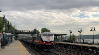 Amtrak & Metro-North Railroad | Afternoon Rush Hour Trains @ Riverdale (Hudson Line)