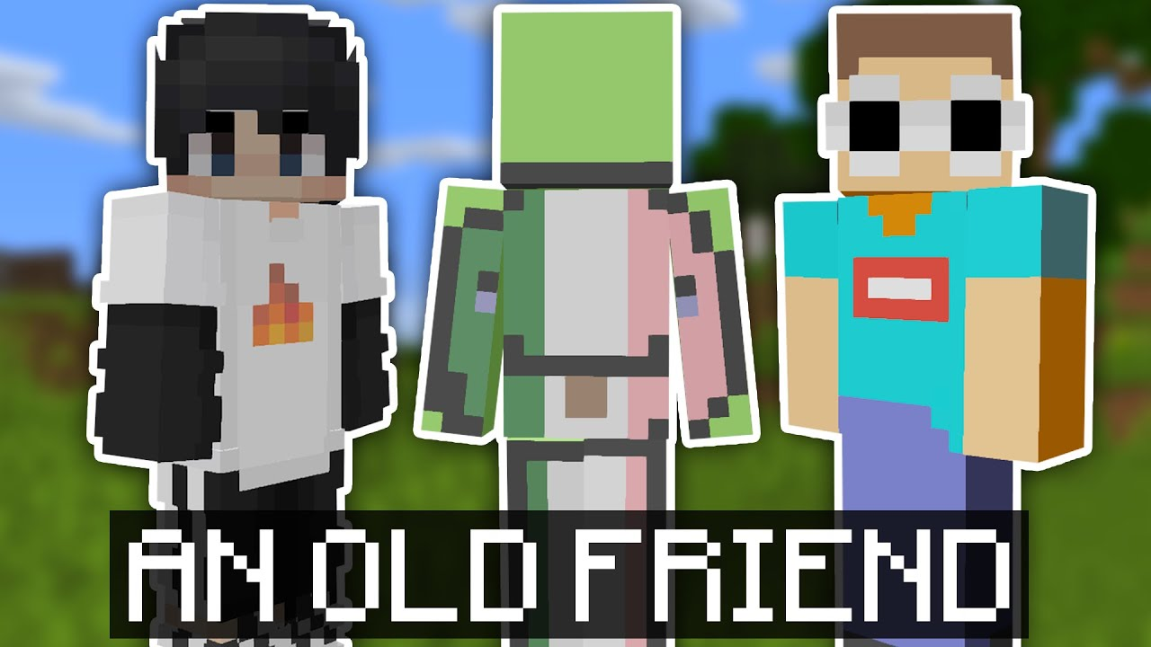 Sapnap and GeorgeNotFound Meet with Mexican Dream on the Dream SMP!