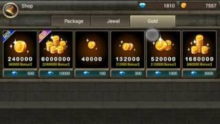 KINGDOM WARS #BUKA PULUHAN KARAKTER UNLIMITED DIAMOND AND GOLD