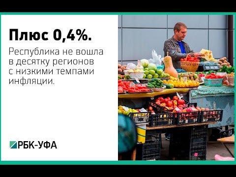 Башкортостан не вошел в десятку регионов ПФО с низкой инфляцией
