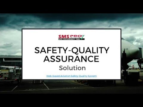 SMS-Pro Safety Quality Assurance Solution Full Introduction