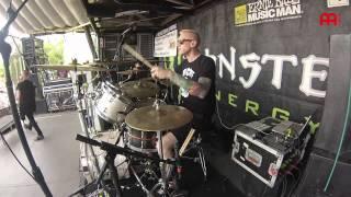 "Cameron Losch Born of Osiris ""Divergency"" Live"