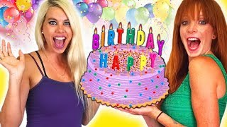 BIRTHDAY SURPRISE!!! Balloon Hacks & Beauty and Hair Tips!