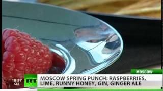 Enjoy A Raspberry Spring Punch In Moscow!