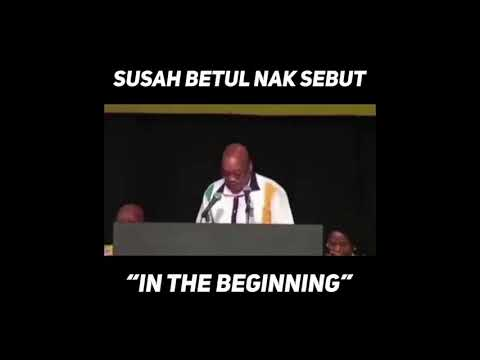 In The Beginning - South Africa President Jacob Zuma