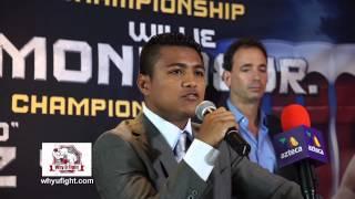 wbo flyweight champion roman chocolatito gonzalez discusses may 16 2015 battle