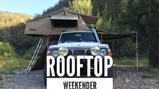Rooftop Weekender. A look at tooloom falls and Paddys flat free camping areas Northern NSW.
