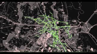Delhi Bus Trips Visualized