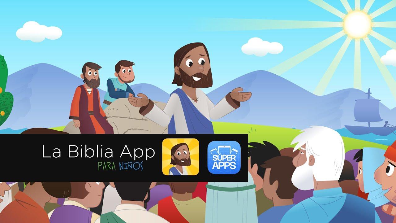 Biblia Para Niños en español (iPad y Tablets) - YouTube