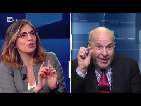 Laura Castelli ospite a Cartabianca su Rai3 - 09/10/2018