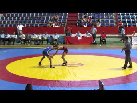 2012 Cadet Pan-American Championships: 46 kg Mason Daugherty (USA) vs. Peru