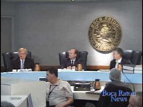Boca Raton City Council Meeting