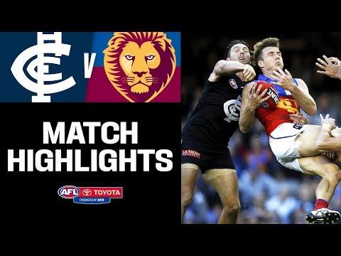 Teague Takes The Reins   Carlton V Brisbane Highlights   Round 12, 2019   AFL