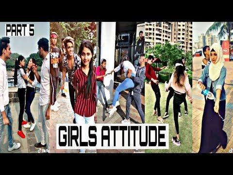 Girl's Attitude | TikTok Girl Attitude Video | Part 5 |