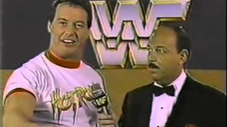 Roddy Piper Promo on Bruno Sammartino (11-02-1985)
