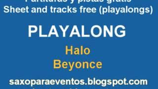 Halo - Beyonce - Playalong and music score