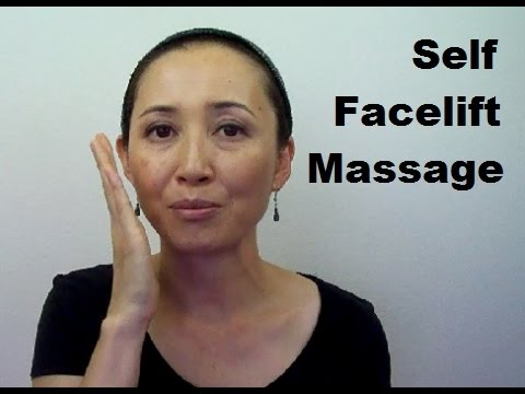 Anti-Aging Facelift Massage | How to Get Rid of Face Fat | Tanaka Method - Massage Monday #203