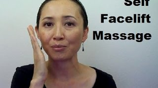 Anti-Aging Facelift Massage | How to Get Rid of Face Fat - Massage Monday #203