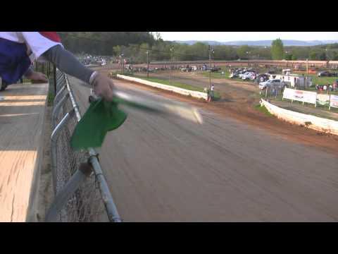 Port Royal Speedway All Star Sprint Car Highlights 4-30-11