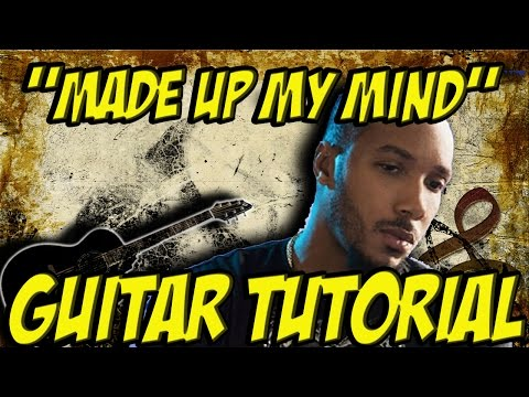 Made up my mind (guitar tutorial ) -Lyfe Jennings