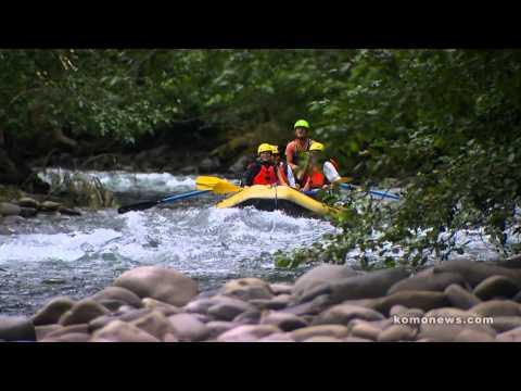 Rafting An Untamed Elwha River