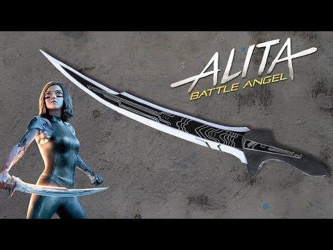 How to make Paper Sword - Alita's Sword - Ninja Sword