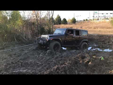 2016 Jeep JK XRC 9500 winch