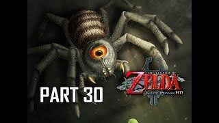 The Legend of Zelda Twilight Princess HD Walkthrough Part 30 - BOSS Armogohma (Hero Mode)