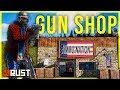 Running a GUN SHOP for CRAZY CUSTOMERS - Rust Shop Series