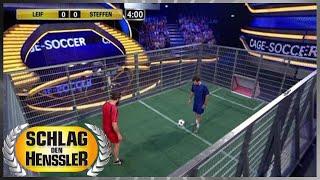 Spiel 7 - Cage-Soccer - Schlag den Henssler