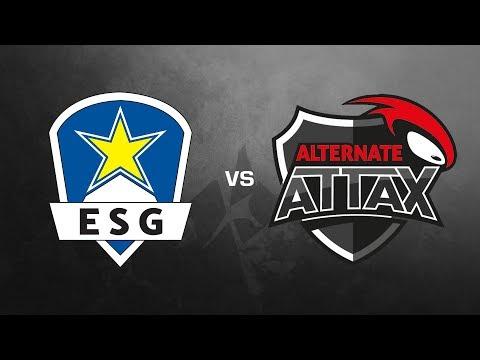 EURONICS Gaming vs. ALTERNATE aTTaX - ESL Sommermeisterschaft 2017 Halbfinale - Train
