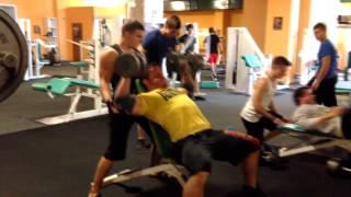 Bodybuilder Samp - Shoulders training - Preparation to AC 2014