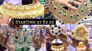 Jewellery Wholesale Market In Sadar Bazar | Artificial Jewellery Collection & Bridal Jewellery