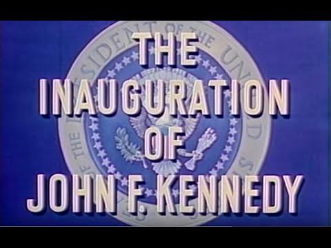 President John Fitzgerald Kennedy Inauguration, 20 January 1961