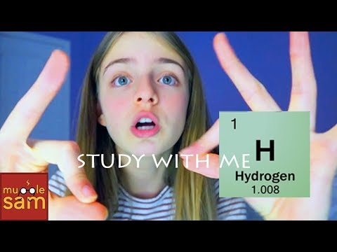 STUDY WITH ME!! The Periodic Table of Elements Song: First 20 Elements