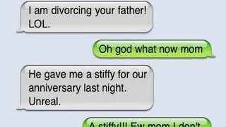 27 Hilarious Texts From Parents To Their Children