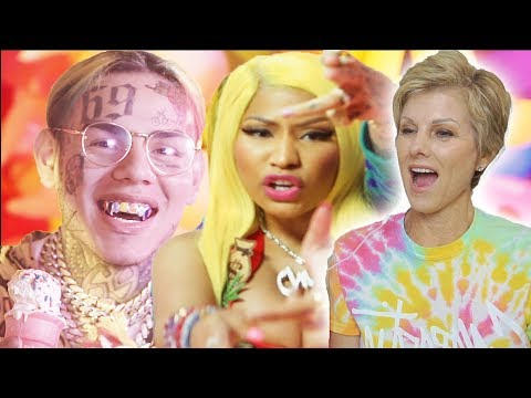"Mom Reacts to 6IX9INE, Nicki Minaj - �"" (HILARIOUS)"