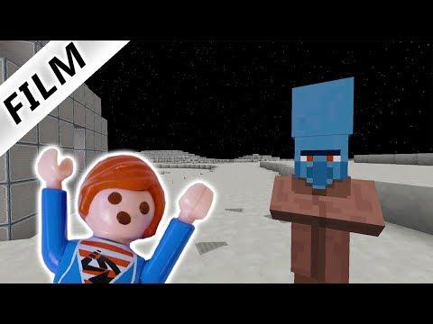 JULIAN IST AUF DEM MOND & TRIFFT ALIENS! JULIAN SPIELT MINECRAFT - Playmobil Film Deutsch