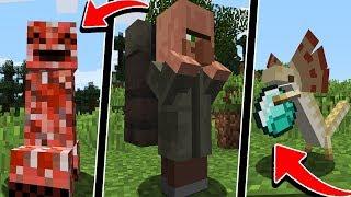 ЭТО 19 НОВЫХ МОБОВ В МАЙНКРАФТ ОНИ ОЧЕНЬ СТРАШНЫЕ ЖЕСТЬ НЕВЕРОЯТНО Minecraft ТРОЛЛИНГ