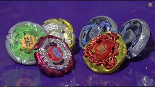 battle team gangan galaxy vs team excalibur beyblade metal masters