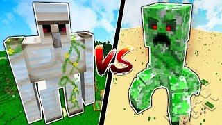STRONGEST MINECRAFT BOSS vs MINECRAFT TITANS!!