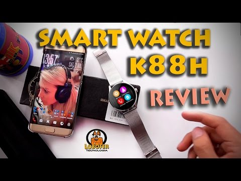 Smartwatch K88H review en Español